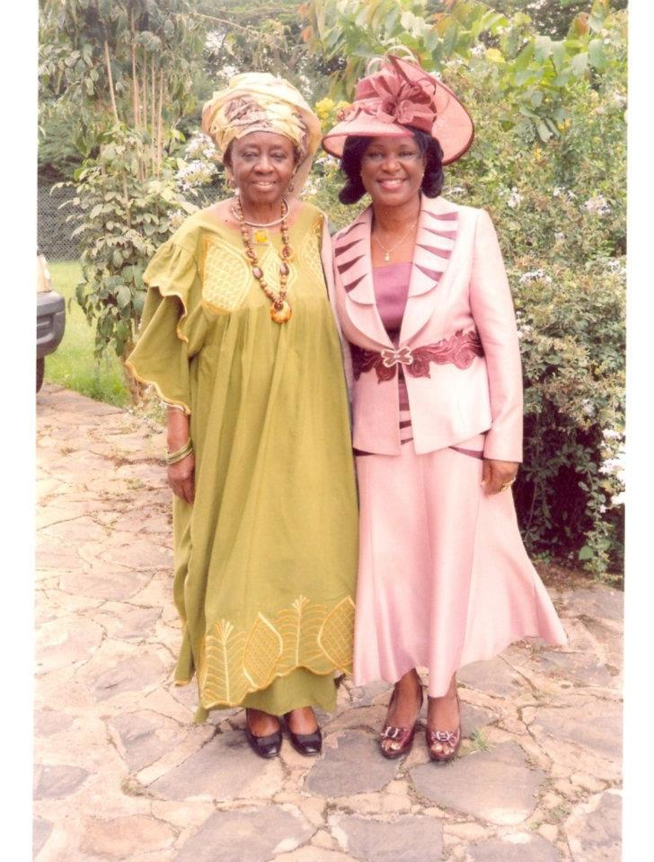With Dr. Martha A. Zama-one of Aunty Theo's final
